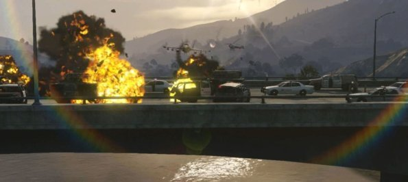 GTA 5: Los Santos mit einem Panzer plattmachen?