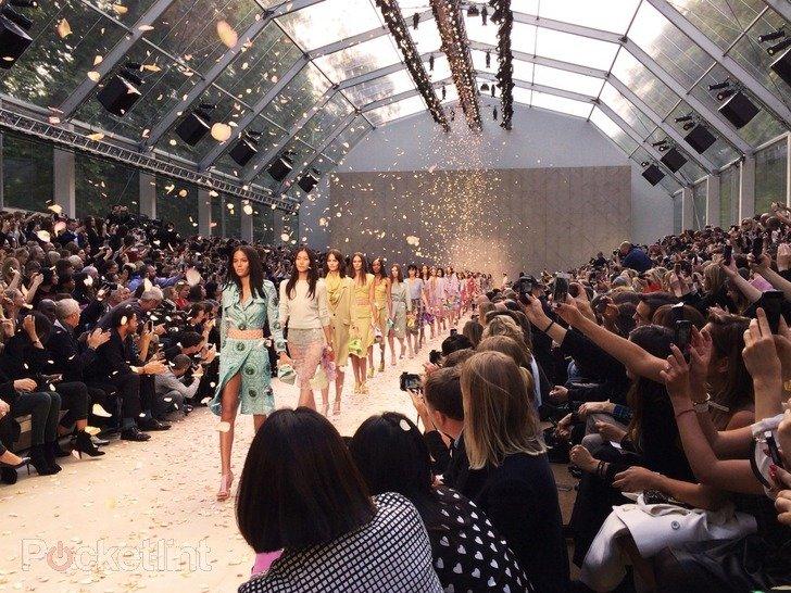 Die Burberry Fashion Show