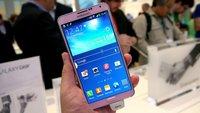 Samsung Galaxy Note 3 - ein Traum in Pink!