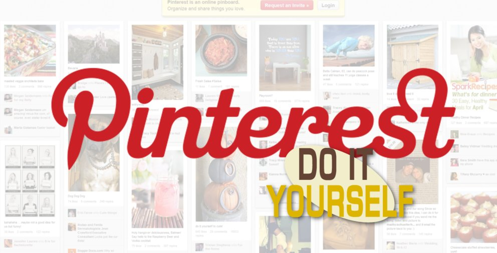 Pinterest DIY: Do it yourself und teile es mit der Welt