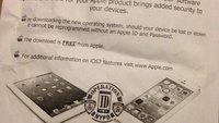 New Yorker Polizei rät allen Apple-Kunden zum Upgrade auf iOS 7