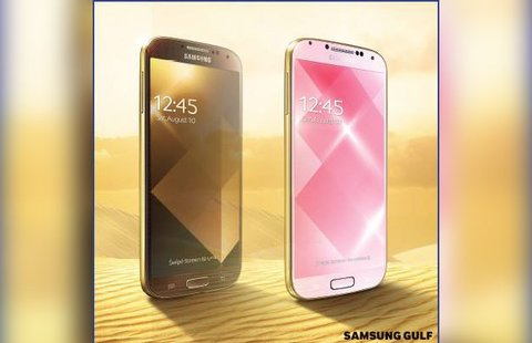 Samsung in Gold