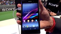 Sony Xperia Z1: Hands-On-Video zum neuen Flaggschiff-Smartphone [IFA 2013]
