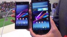 Sony Xperia Z1 vs. Xperia Z Ultra: L- und XL-Flaggschiff im Videovergleich [IFA 2013]