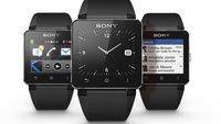 Sony Smartwatch 2: wasserdicht, mit vielen Apps, aber unselbstständig