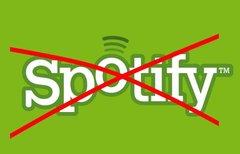 Spotify kündigen 2015- Genug...