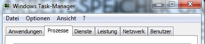 taskmanager prozesse