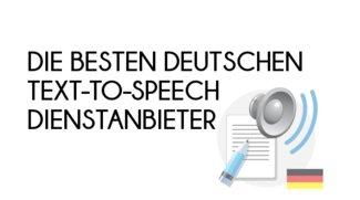 Text to Speech: Auf Deutsch vorlesen lassen - die besten Dienste