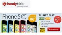 iPhone 5c ohne Zuzahlung mit Vertrag bei handytick