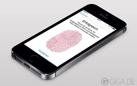Patent: Apple Touch ID für weitere Geräte
