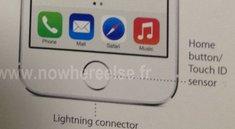 "iPhone 5S: Foto zeigt Homebutton mit ""Touch ID Sensor"""