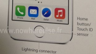 "iPhone 5S: Foto zeigt Homebutton mit ""Touch ID Sensor"""