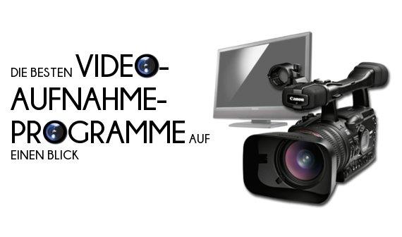 Kostenlose Video-Aufnahme-Programme für den Desktop auf einen Blick