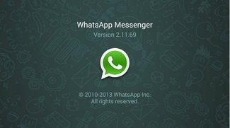 Nexus 7 (2013) LTE: WhatsApp nutzen - so geht's