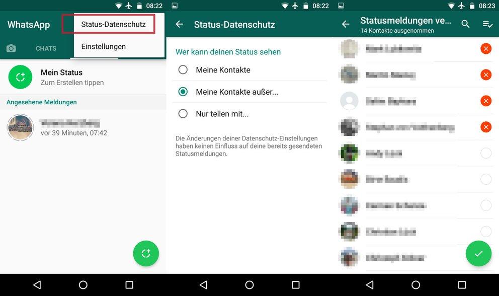 Whatsapp Status Von Anderen Ausschalten