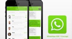 Konzept: WhatsApp im iOS 7-Design