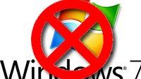 Wie gehe ich vor, wenn ich Windows 7 deinstallieren will?