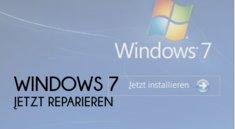 Windows 7: Defragmentierung über Reparaturinstallation oder Software