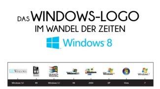 Das Windows Logo im Wandel der Zeiten