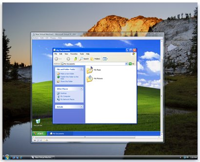 windows xp download virtual machine