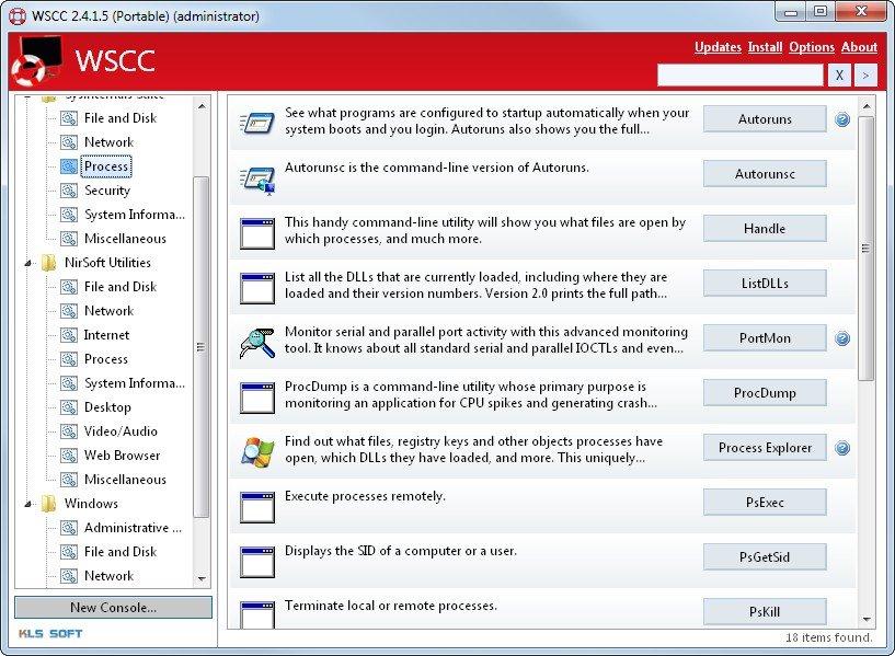 Es gibt keine Systemaufgaben, denen das Windows System Control Center nicht gewachsen ist