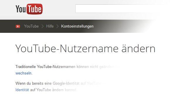YouTube-Namen ändern – So ändert ihr euren Nutzernamen