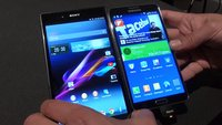 Samsung Galaxy Note 3 vs. Sony Xperia Z Ultra: Phablet-Stars im Hands-On-Vergleich [IFA 2013]