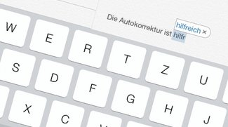 Autokorrektur in iOS 7 nutzen, verbessern und ausschalten