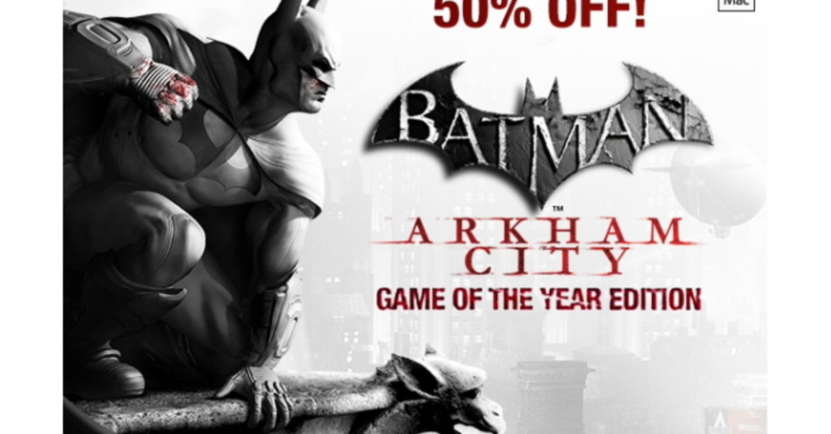 batman arkham city game of the year edition f r ca 11 euro giga. Black Bedroom Furniture Sets. Home Design Ideas