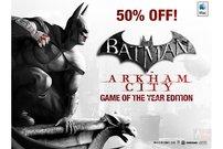 Batman: Arkham City - Game Of The Year Edition für ca. 11 Euro