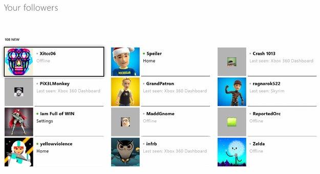 Xbox One goes Twitter: Microsoft stellt das neue Follower-System vor