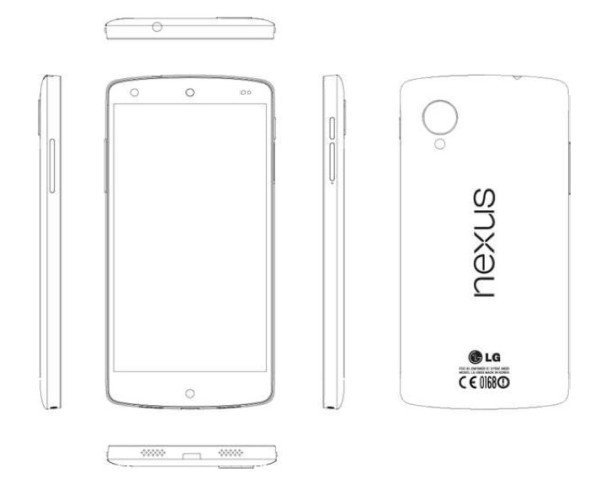 Nexus 5: Reparaturanleitung verrät alle Spezifikationen