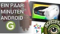 Ein paar Minuten Android: Google-Kritik, flexible Displays und gefälschte Tests