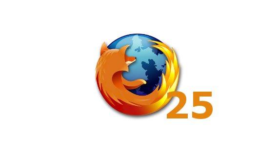 Mozilla Firefox 25 erschienen