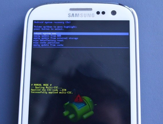 Galaxy S3 Recovery Mode