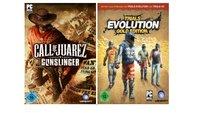 Im Angebot: Call of Juarez Gunslinger und Trials Evolution Gold Edition