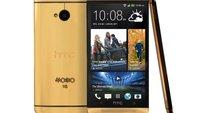 HTC One aus Gold für 4424 Dollar zu verschenken!