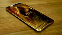 HTC One aus Gold. Echtem 18K Gold (Hands-On)