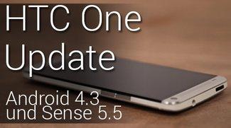 HTC One Update auf 4.3 rollt aus