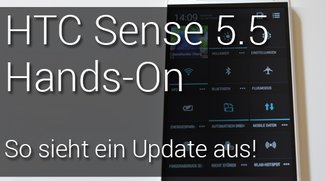 So geht ein Update: HTC Sense 5.5 Hands-On