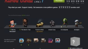 Humble Bundle 7: The Bard's Tale, Worms Reloaded und weitere Titel im Angebot