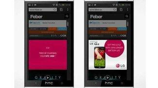 LG trollt HTC One & Apples iPhone