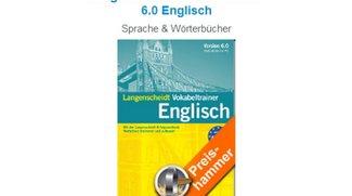 Langenscheidt Vokabeltrainer 6.0 Englisch für 7,20 Euro bei Softwareload