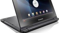 Lenovo IdeaPad A10: Convertible-Netbook mit Android für 249 Euro bei Amazon gelistet