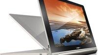 Lenovo IdeaPad B6000-F und B8000-F: Android-Tablets im Yoga-Style