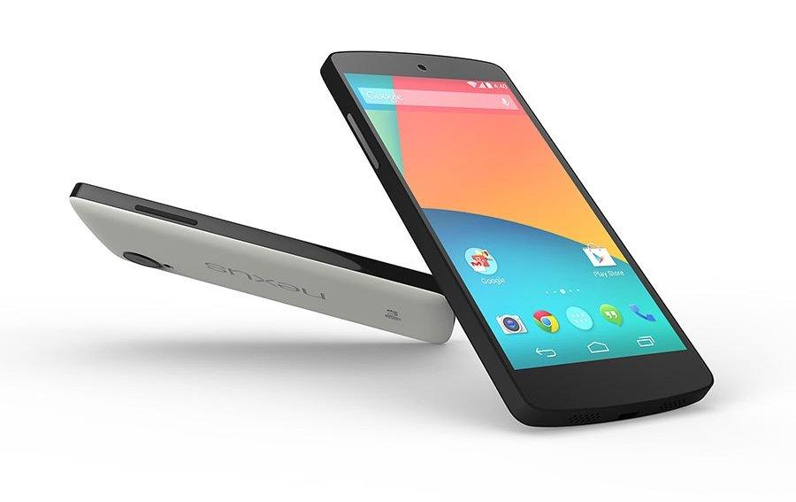 Nexus 5: Google-Phone mit Android 4.4 offiziell vorgestellt