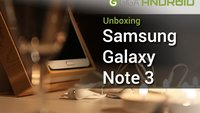 Samsung Galaxy Note 3 im Candle Light Unboxing