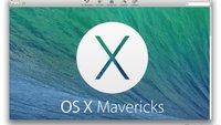 OS X Mavericks: Kostenloser Download und Installation – so geht's
