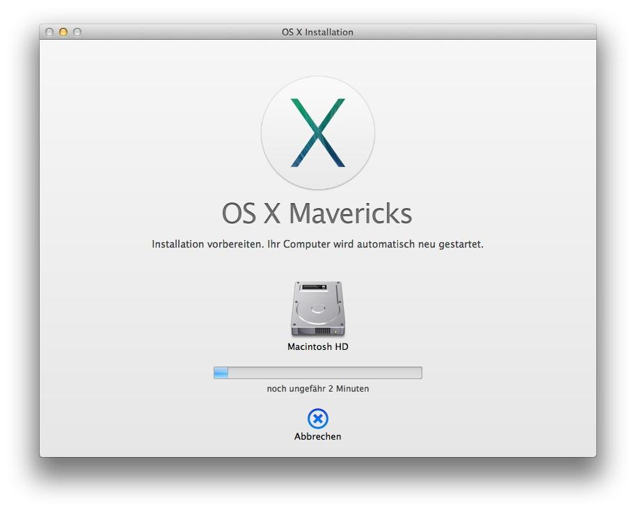 OS X Mavericks: Kostenloser Download und Installation – so