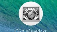 OS X 10.9 Mavericks einrichten: Mitteilungszentrale, Schlüsselbund, Ortung und mehr